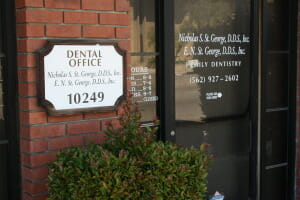 Dentist Downey CA Front of Building - Dr. Nicholas S. St. George DDS